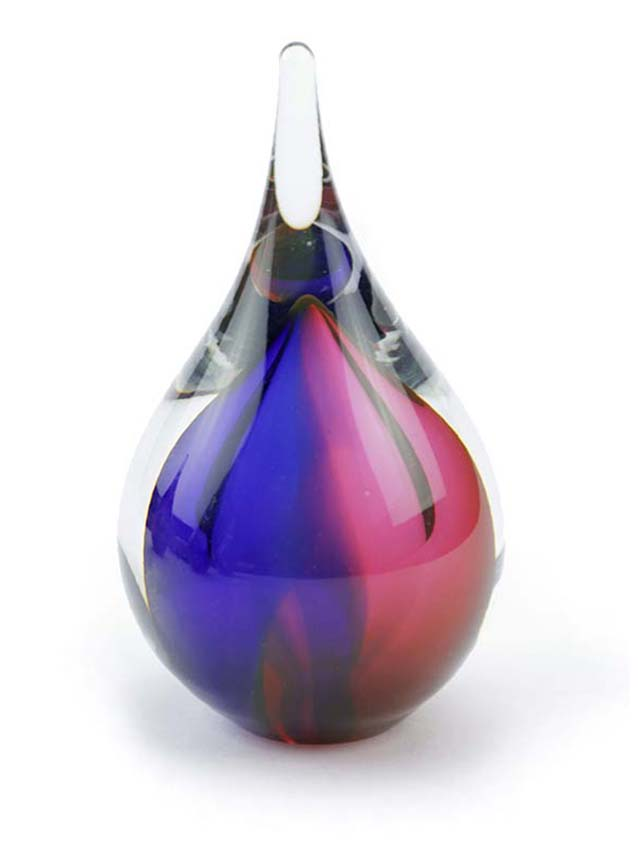 Kristalglazen 3D Mini Traan Dierenurn (0.05 liter)