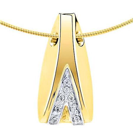 Ashanger mossel met 8 diamantjes