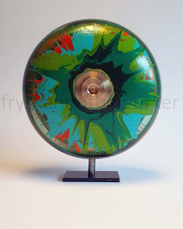 Kleine Green Eye Design Urn op Sokkel (ca. 0.5 liter)
