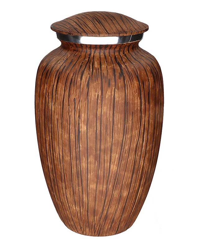 Elegance Mini Dierenurn Dark Woodlook (0.1 liter)