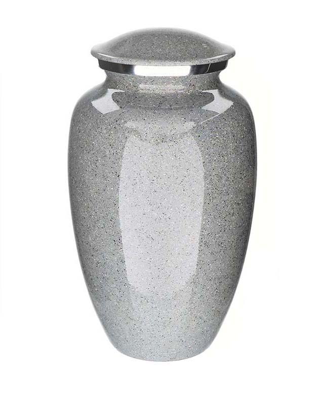 Elegance Hart Dierenurn Marble Look  (0.1 liter)