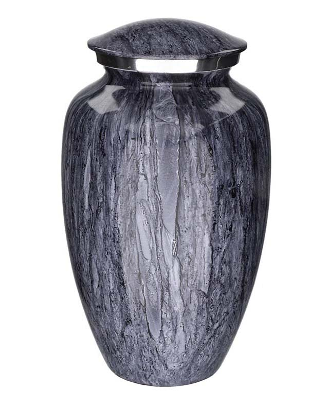 Elegance Mini Urn Mass Blue Granit Look (0.1 liter)