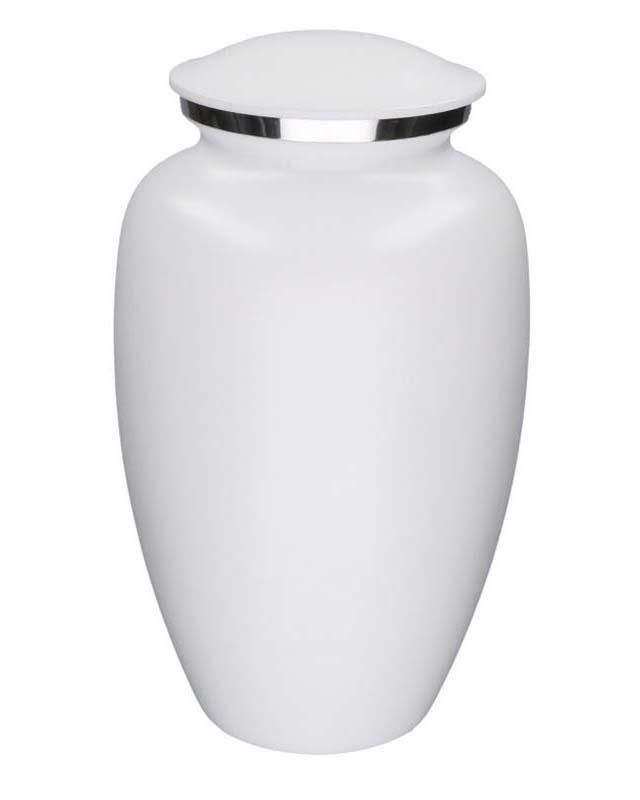 Grote Elegance Urn Matwit Marmer Look (3.5 liter)