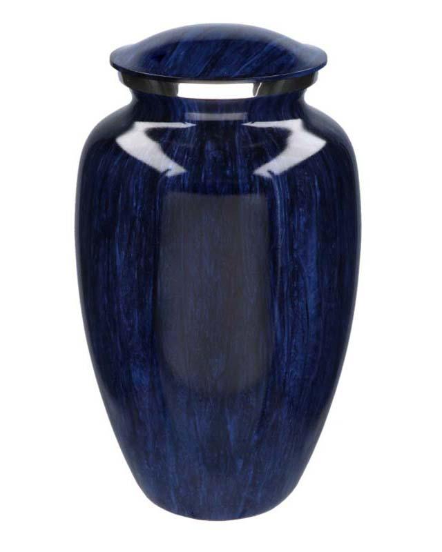 Grote Elegance Urn Darkblue Stripes (3.5 liter)