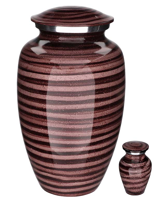 Elegance Mini Urn Wetlook Purple (0.1 liter)