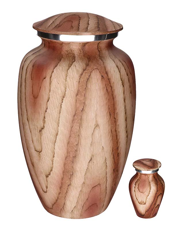 Elegance Mini Urn Beige Woodlook (0.1 liter)
