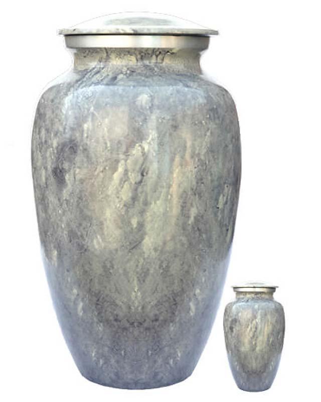 Elegance Urnen Voordeelset Multicolor Marble Look (3.6 liter)