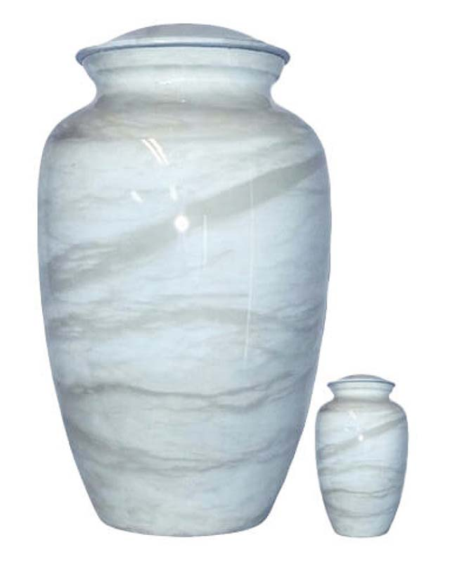 Grote Elegance Urn Blue Marble (3.5 liter)