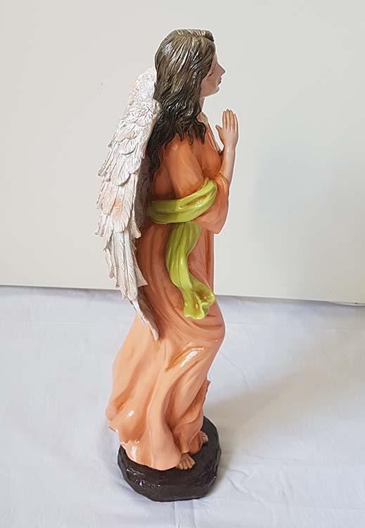 Staande Biddende Engel Urn, Handgeschilderd (2.5 liter)