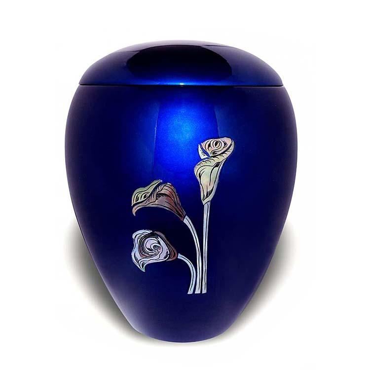 Grote Glasfiber Urn Lelies (4.5 liter)