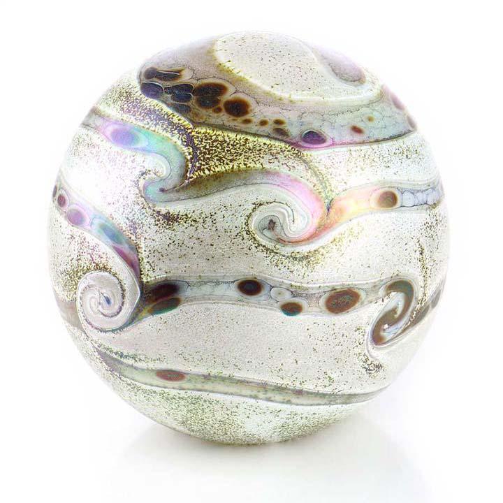 Grote Kristalglazen Bol-Urn Elan Ivory (4 liter)