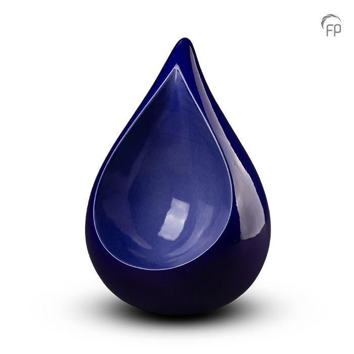 Grote Keramische Celest Dierenurn Blauw (3.4 liter)