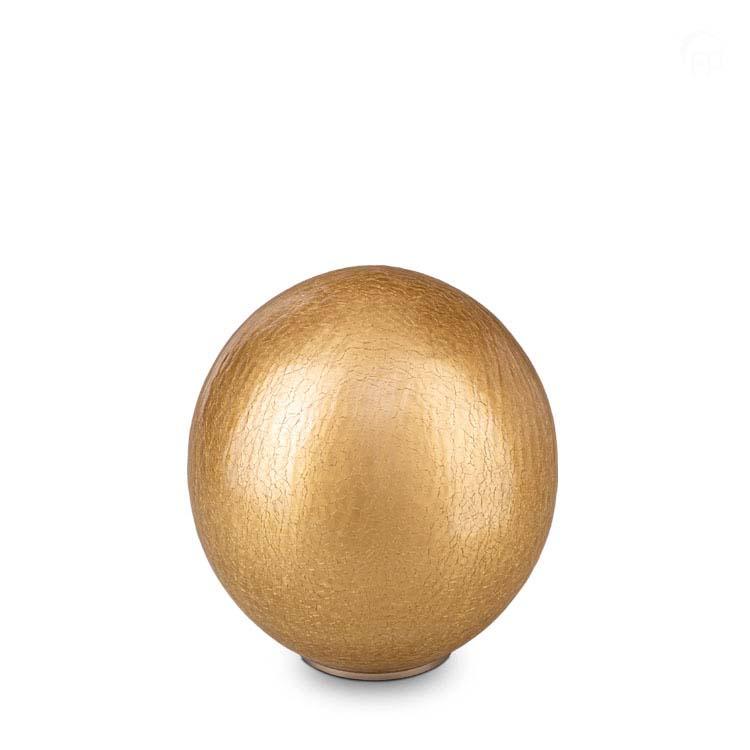 Grote Bal Dierenurn Goud Craquele (3.5 liter)