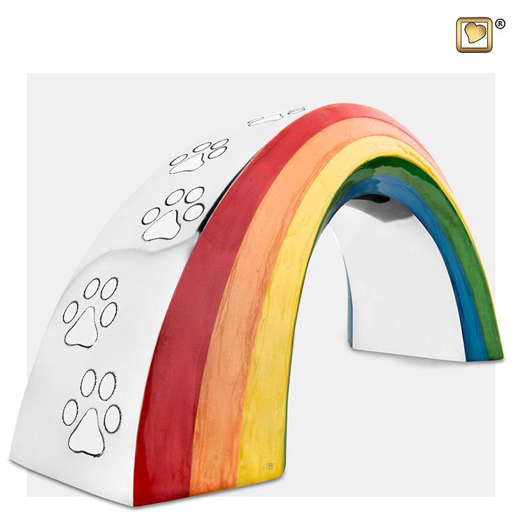 Grote Dierenurn Rainbow Bridge (1.35 liter)