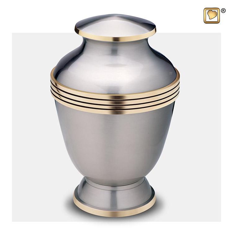 Grote LoveUrns Urn Tinkleurig - Gouden Sierranden (4.2 liter)