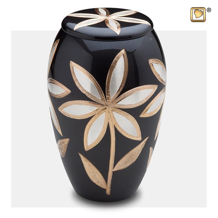 Grote Messing Urn - Messing Bloemen (3.6 liter)