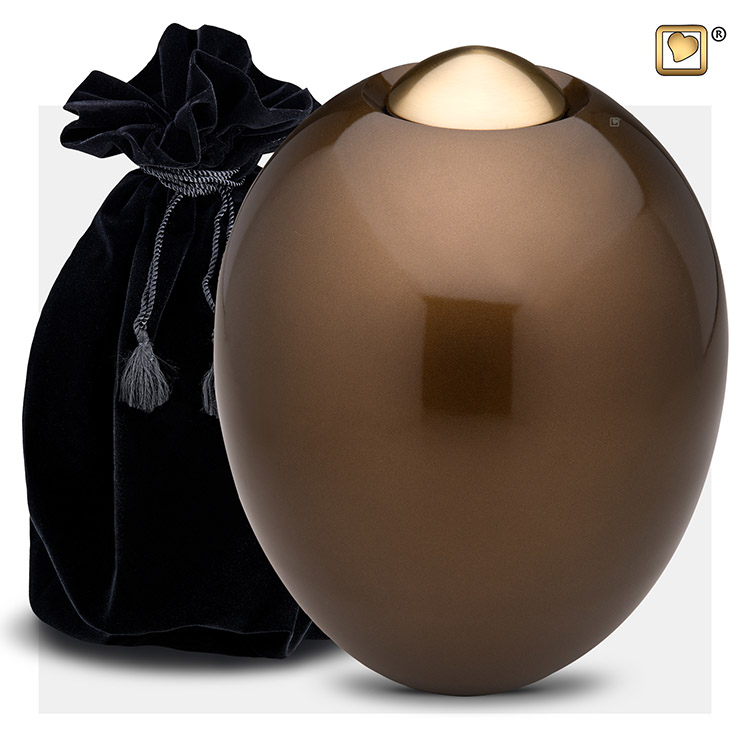 Grote Messing Adore Golden Brown Urn (4.3 liter)