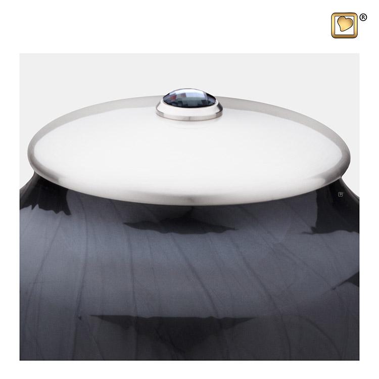 Messing Simplicity Urnen Voordeelset Zwartmarmer (3.6 l.)