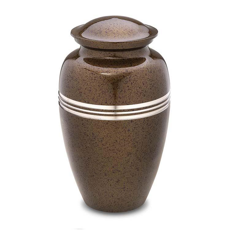 Grote LoveUrns Urn Klassiek Gespikkeld Auburn (3.4 liter)