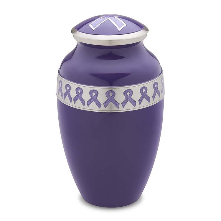 Grote LoveUrns Urn Purple Ribbon (3.1 liter)