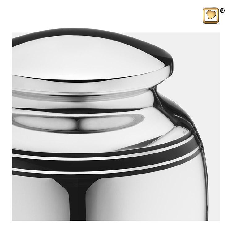 Zilveren LoveUrns Art Deco Urn (3.5 liter)