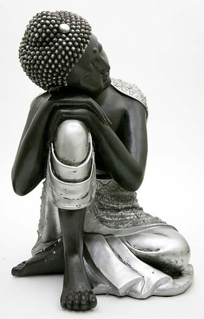 Grote Dierenurn Slapende Indische Buddha (3.5 liter)