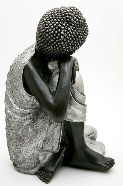 Grote Buddha Urn Slapende Indische Buddha (3.5 liter)