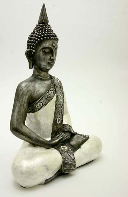 Grote Thaise Meditatie Boeddha Urn (2.5 liter)