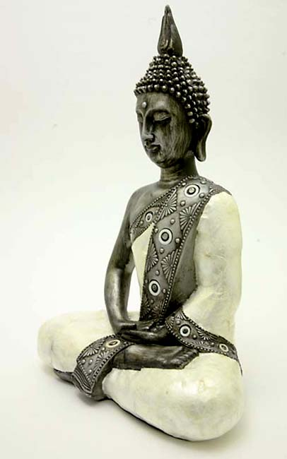 Grote Thaise Meditatie Boeddha Dierenurn (2.5 liter)