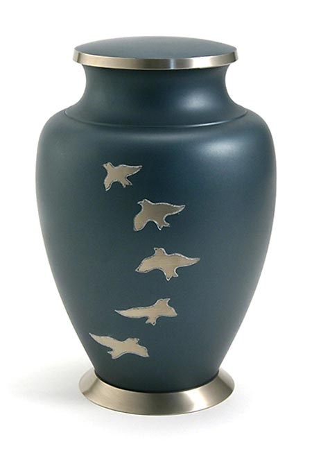 Grote Messing Aria Ascending Doves Urn (3.3 liter)