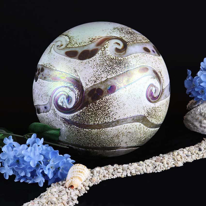 Middelgrote Kristalglazen Bol-Urn Elan Ivory (1.5 liter)