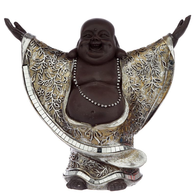 Lachende Dikbuik Boeddha Urn Hemelreikend (0.9 liter)
