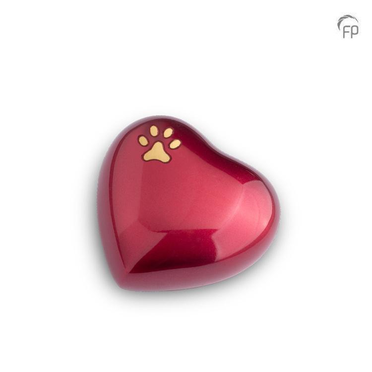 Mini Dieren Harturn Rood, Gouden Pootafdruk (0.11 liter)