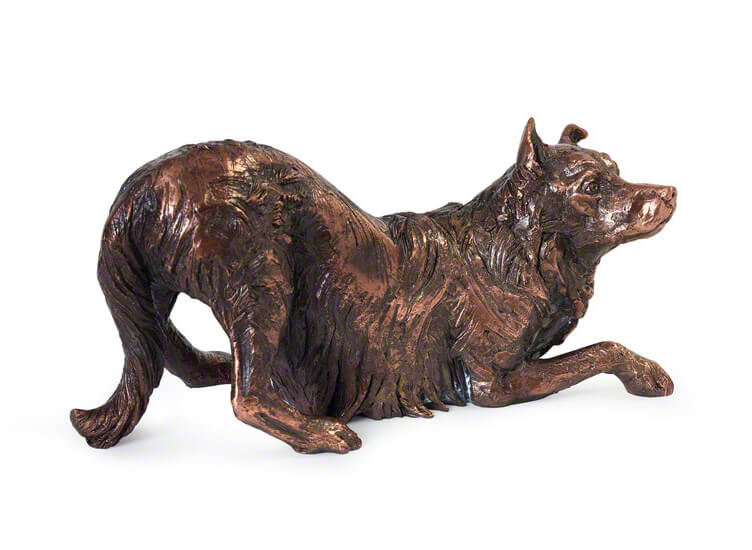 Mini Hondenurn of Asbeeldje Border Collie (0.01 liter)