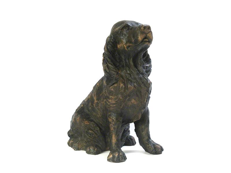 Hondenurn of Asbeeld Zittende Cocker Spaniel (1.5 liter)