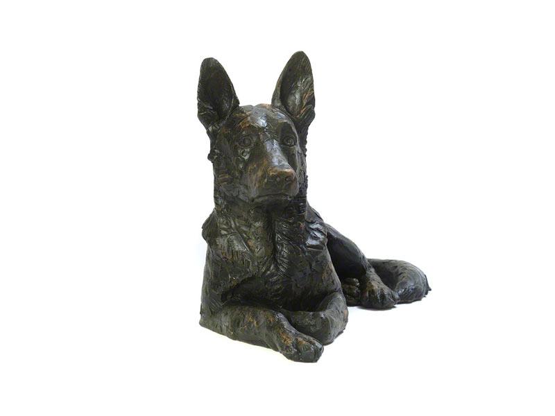 Hondenurn of Asbeeld Herder (2.5 liter)