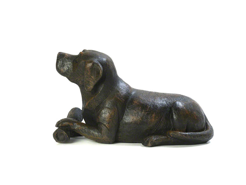 Hondenurn of Asbeeld Hond met Bot (3 liter)