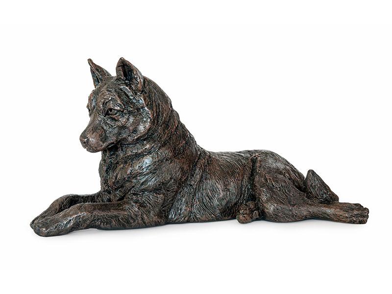 Hondenurn of Asbeeld Husky (2.8 liter)