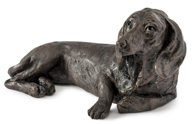 Hondenurn of Asbeeld Kortharige Teckel (1.5 liter)