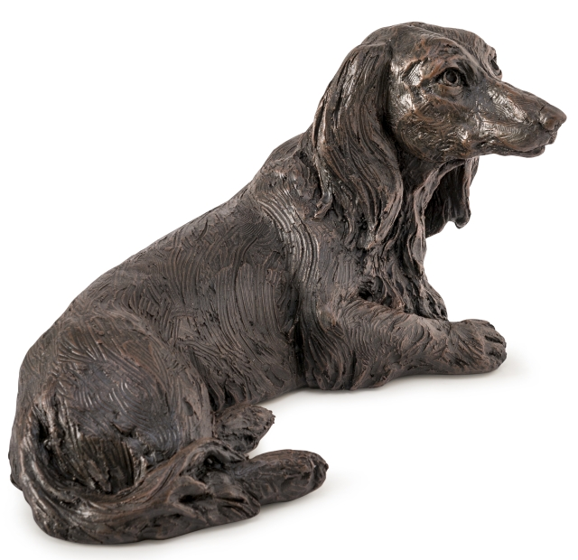Hondenurn of Asbeeld Langharige Teckel (1.5 liter)
