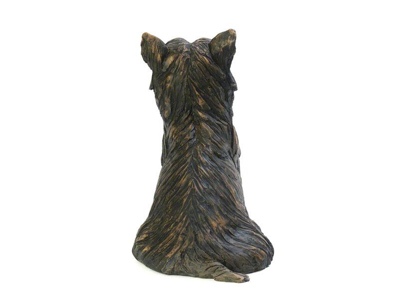Hondenurn of Asbeeld Zittende Yorkshire Terrier (1.7 liter)