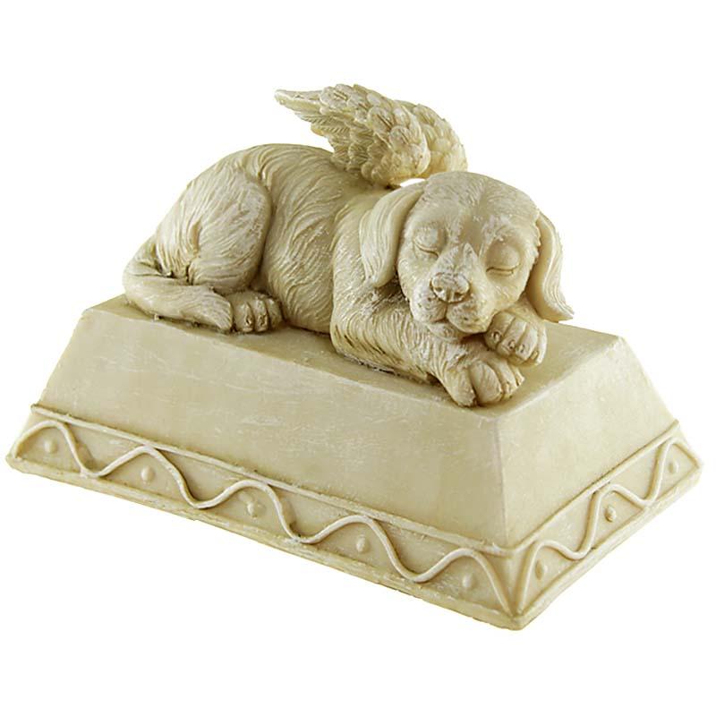 Honden Urn of Honden Asbeeld, Hond met Engel Vleugels (0.8 liter)