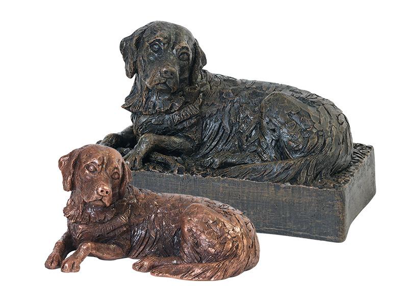 Hondenurn of Asbeeld Golden Retriever (1.3 liter)