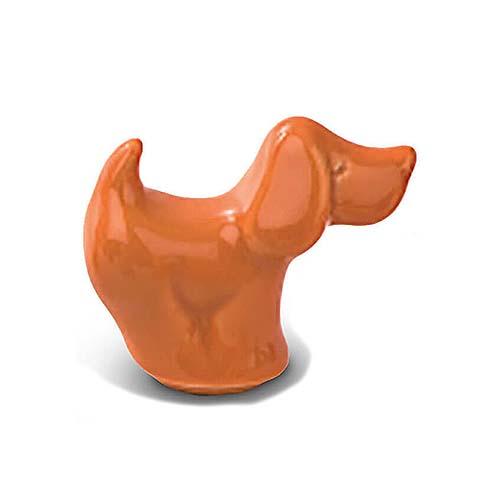 Meerkleurige Mini Dierenurn Staand Hondje (0.11 liter)