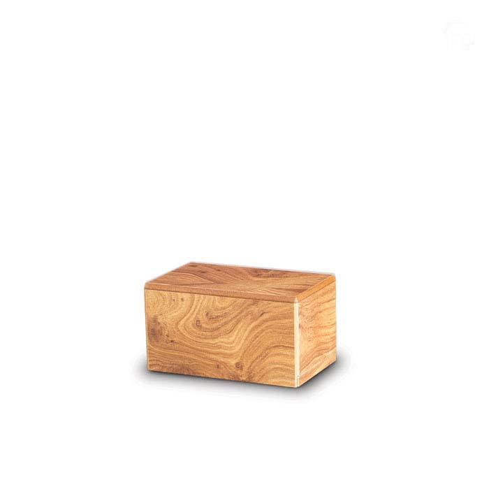 Mini Kist Urn of Assokkeltje Grenen (0.4 liter)