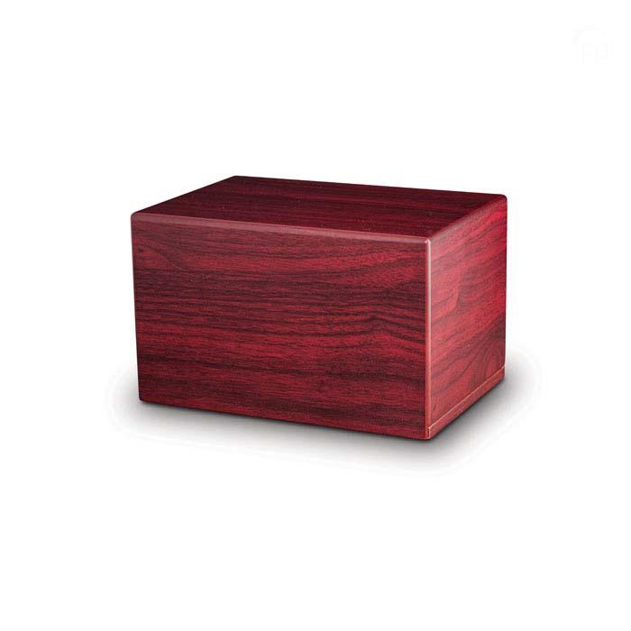 Grote Kist Dierenurn of Sokkel Dieren Urn Mahonie (3.5 liter)