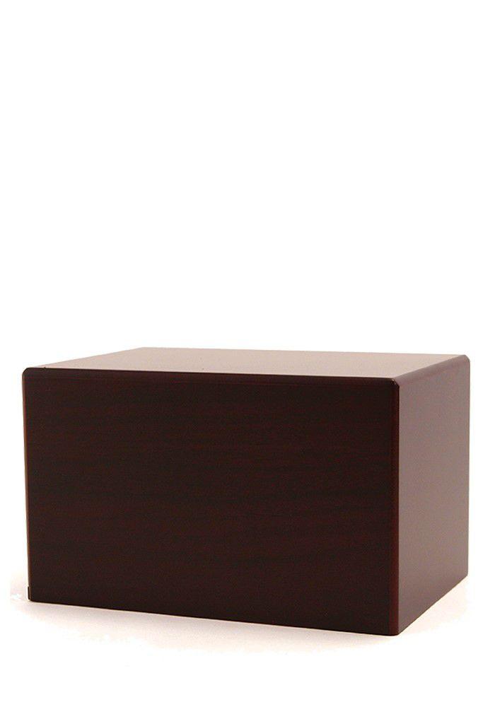 Grote Kist Urn of Sokkel Urn Kersenhout (3.5 liter)