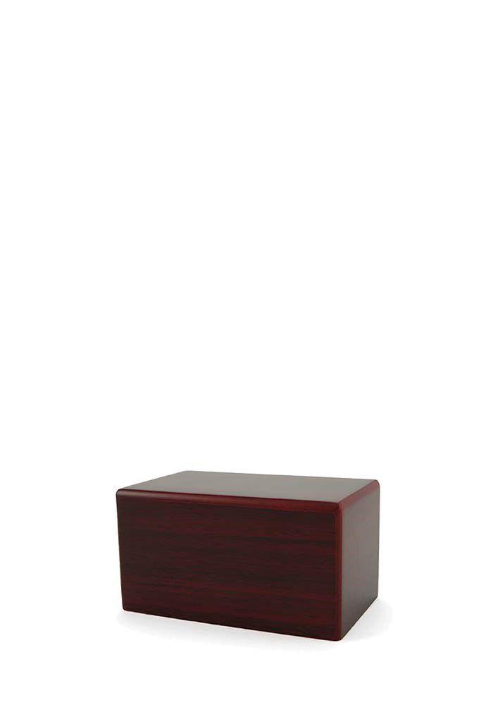 Mini Kist Urn of Sokkel Urn Kersenhout (0.45 liter)