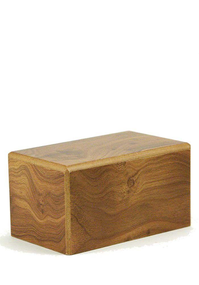 Medium Grote Kist Urn of Sokkel Urn Naturel (2 liter)