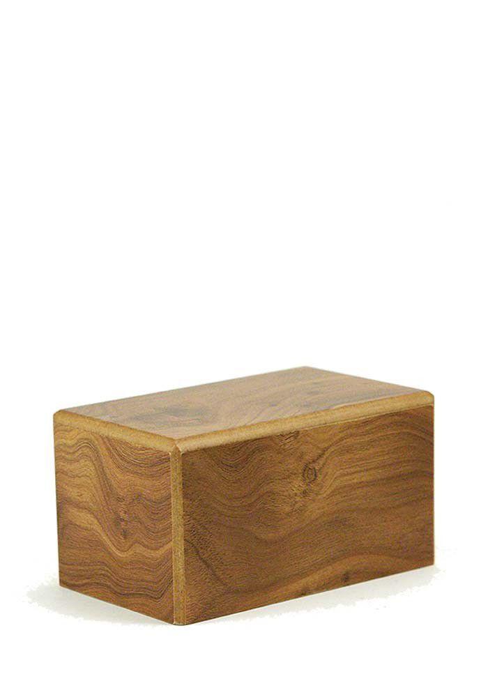 Kleine Kist Urn of Sokkel Urn Naturel (0.65 liter)